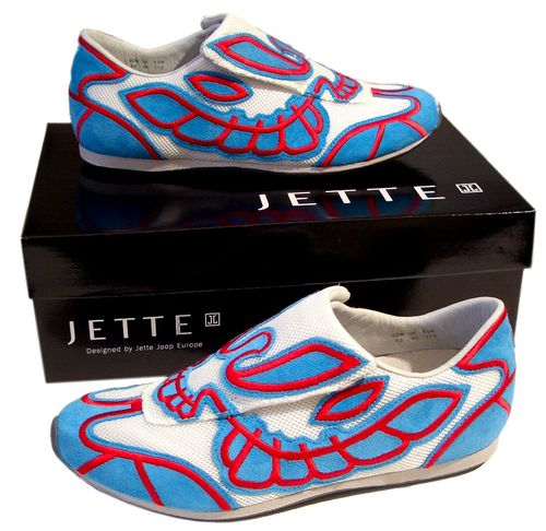 Jette New Mexican Sneaker Turquise/Red Größe EU 37  UK 4 - 1