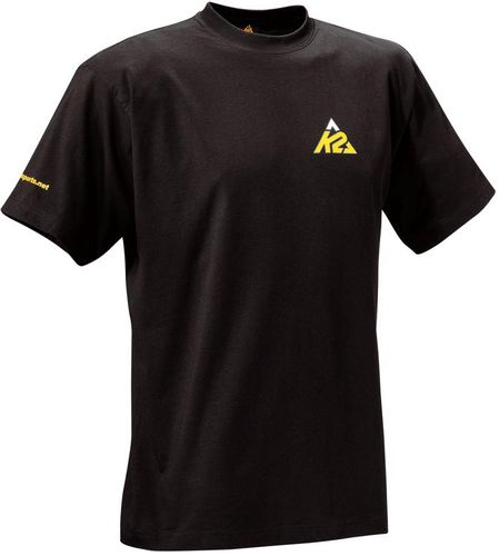 K2 Logo T-Shirt - schwarz - Größe L - 1