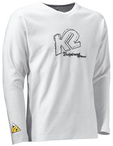 K2 Long Sleeve - weiß - Größe L - 1