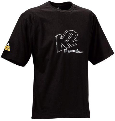 K2 Retro T-Shirt - schwarz - Größe S - 1