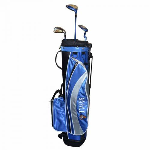 LONGRIDGE Junior Tiger Plus Graphite Golf Package - (4-7) JAHRE RH - JUPTP4GR - 1