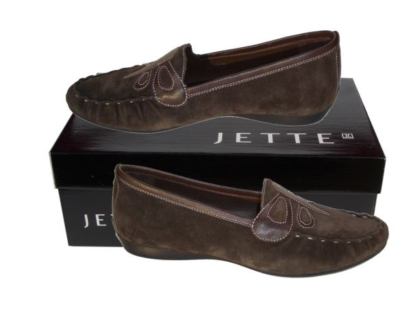 Jette Butterfly Moccasin Cacao - EU 40.5 - 3