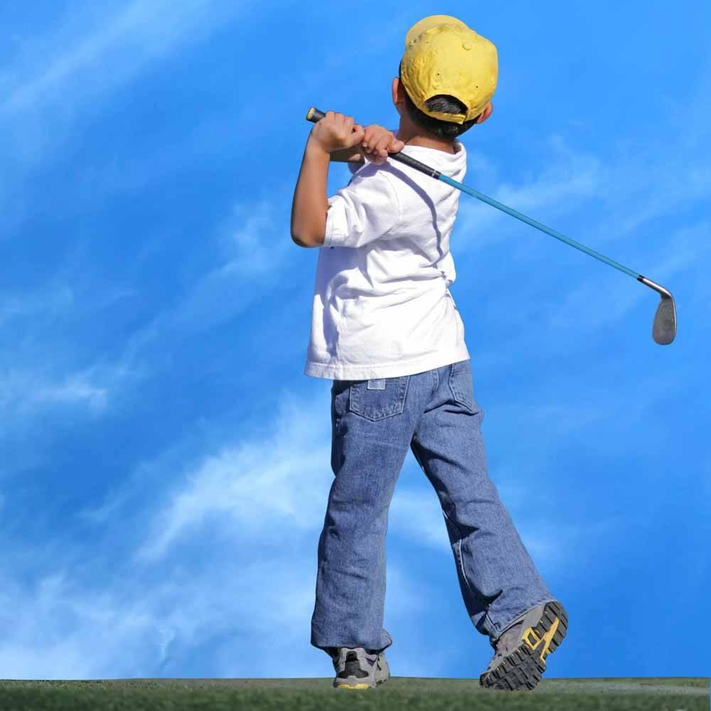 LONGRIDGE Junior Tiger Plus Graphite Golf Package - (8-11) JAHRE LH - JUPTP8GRLH - 5