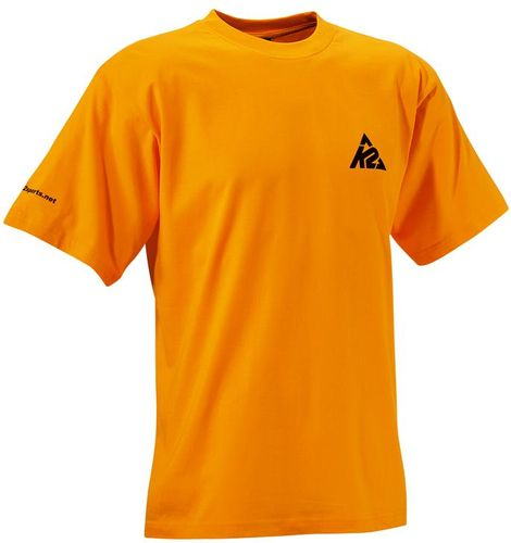 K2 Logo T-Shirt - orange - Größe XL