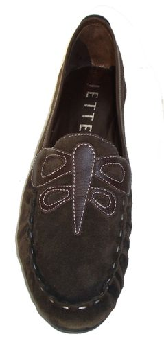 Jette Butterfly Moccasin Cacao - EU 40