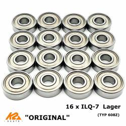 K2 ILQ-7 ILQ7 KUGELLAGER TWINCAM BEARINGS SKATE-LAGER High Performance TYP 608Z